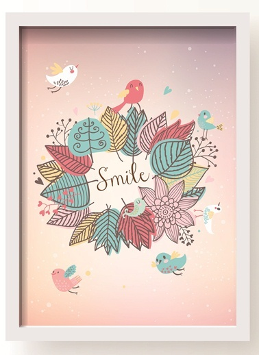 Smile Poster-All About Wall
